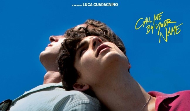 ho scritto i titoli del film Call me by your name