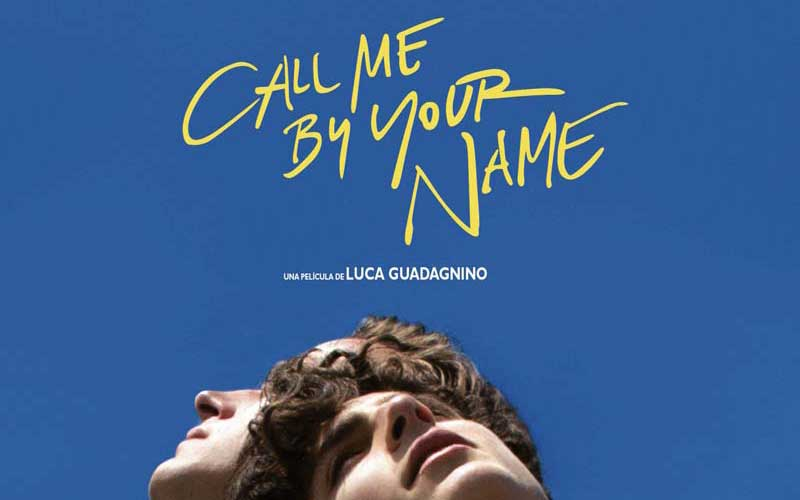 call me by your name: yellow handwriting by Chen Li for the film